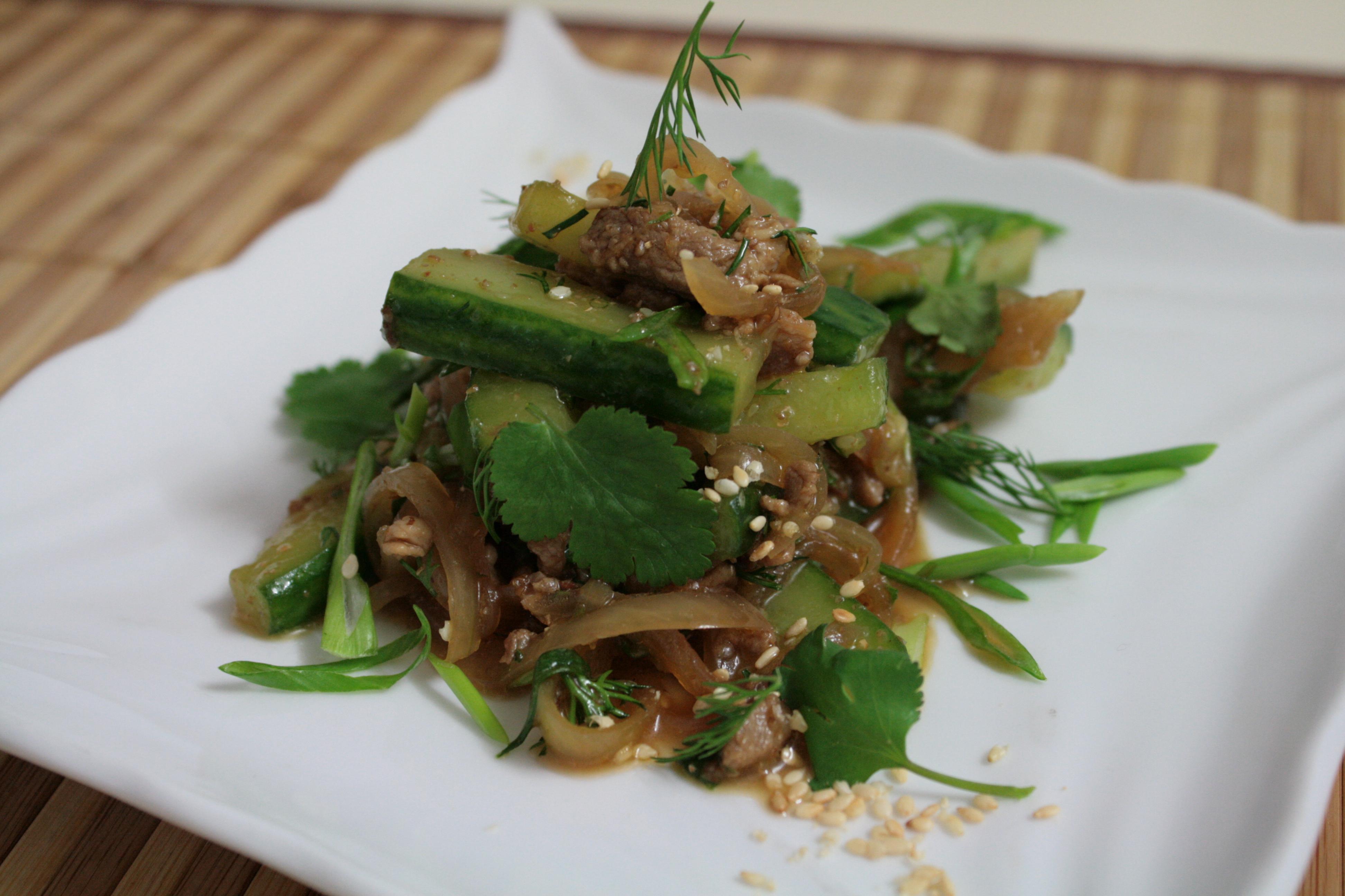 Корейские салаты с кабачков рецепты с 63